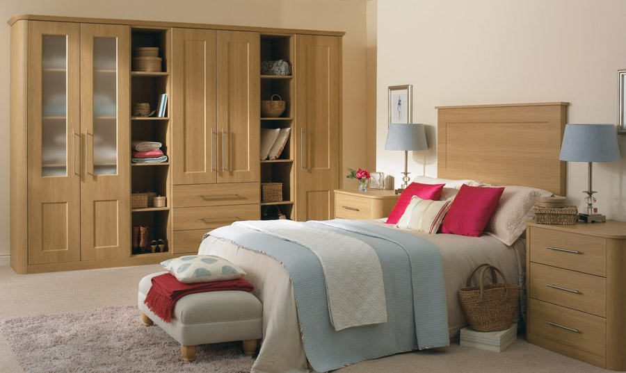 Bella lissa oak bedroom
