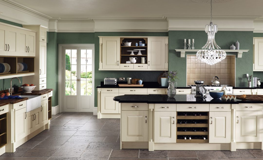 Windsor classic kitchen ivory
