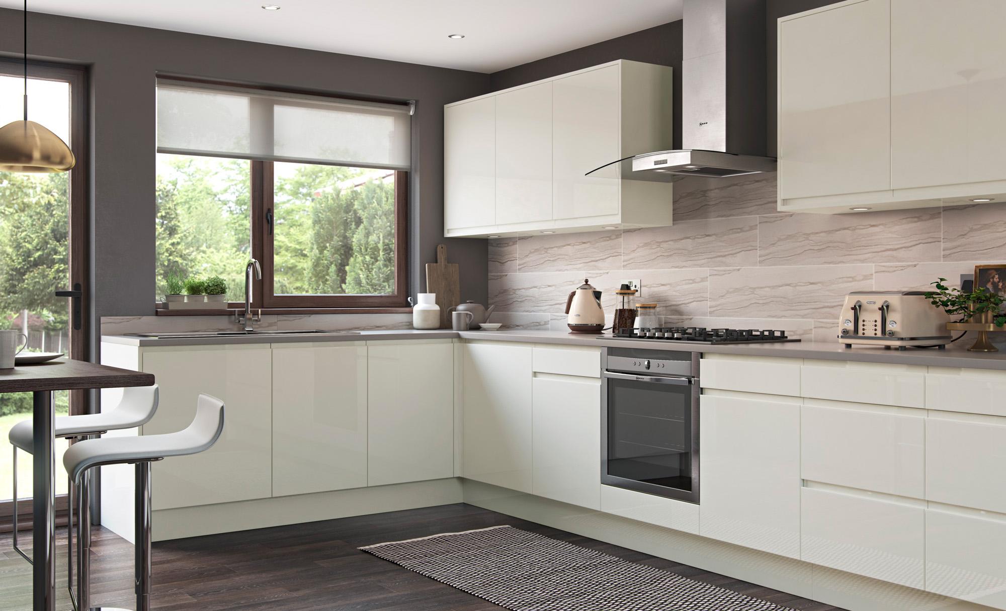Strada Gloss modern contemporary kitchen