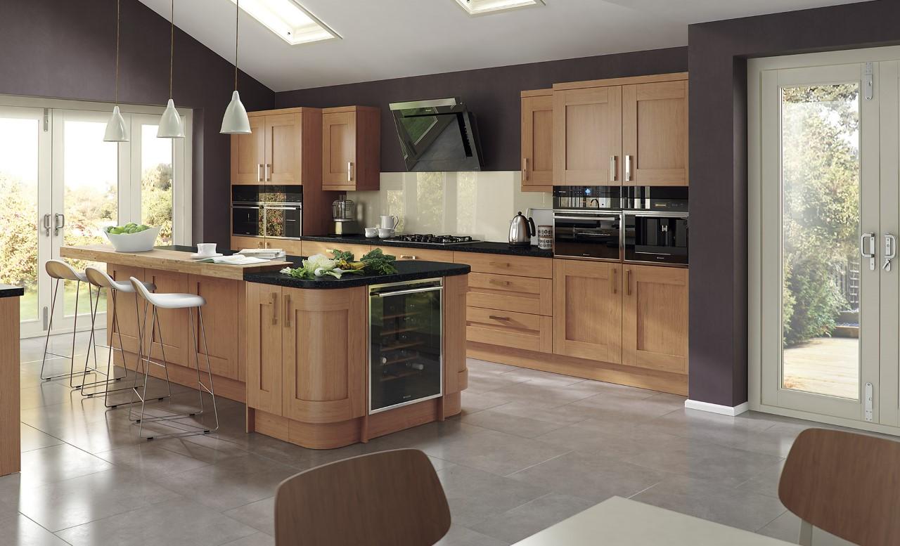 Windsor Shaker Oak Classic kitchen