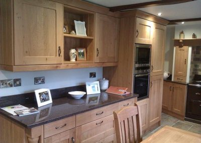 Kitchen: Solid Oak