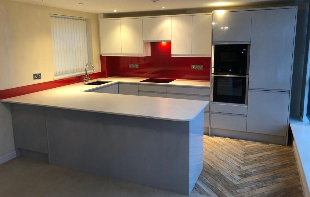 Plymouth Penthouse Kitchen